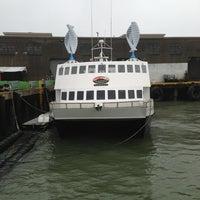 Photo taken at Alcatraz Cruises by Nadya on 12/23/2012