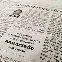 Photo taken at Folha da Região by Marco S. on 5/16/2015