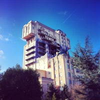 Photo taken at The Twilight Zone Tower of Terror by Guillem S. on 1/3/2013