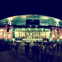 Photo taken at Emirates Stadium by Bruno M. on 5/27/2013