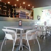 Photo taken at BarraN' Tea Jazz Restaurant Lounge by Ali P. on 5/8/2013