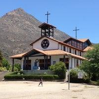 Photo taken at Santuario Santa Teresita de los Andes by Karina B. on 12/30/2012