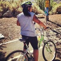 Photo taken at Santa Clarita Bike Trail by Brad W. on 10/13/2012