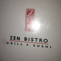 Photo taken at Zen Bistro Sushi by Josh R. on 12/13/2012