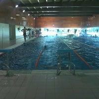 Photo taken at piscina de mindelo by martins f. on 10/27/2012