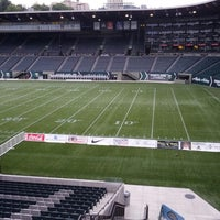 Photo taken at Providence Park by Austin P. on 9/22/2012