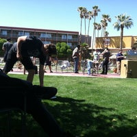 Photo taken at Hotel Tucson City Center InnSuites IBC Hotel & Suites by Bam B. on 4/6/2013