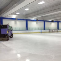 Photo taken at Ice Center by Roxanne G. on 2/10/2013