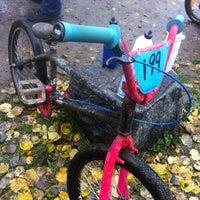 Photo taken at Onkiniemen BMX-rata by Noora L. on 10/7/2012