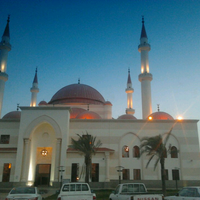 Photo taken at Mosque Alrajhi by Anwar A. on 5/2/2013