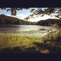 Photo taken at Rockefeller State Park Preserve by Jenny D. on 9/16/2012
