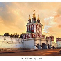 Photo taken at Novodevichy Convent by XBOCT on 11/19/2012