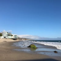 Photo taken at Malibu Colony Beach by Anastasiia D. on 10/15/2016