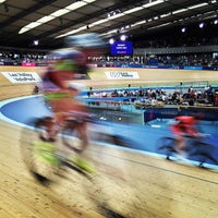 Photo taken at London 2012 Velodrome by James L. on 6/8/2015