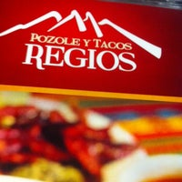 Photo taken at Pozole y Tacos Regios by Pako H. on 5/9/2014