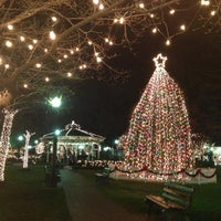 Photo taken at Collierville Town Square / Confederate Park by Red B. on 12/20/2012