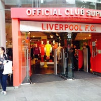 Photo taken at Liverpool FC Official Club Store by Rene l. on 7/19/2014