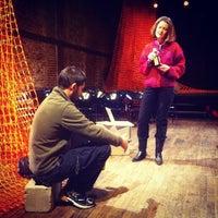 Photo taken at LaMaMa ETC Studios by Bcnlovesny on 1/29/2014