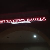 Photo taken at Bruegger's by CJ Y. on 3/18/2016