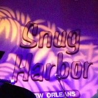 Photo taken at Snug Harbor Jazz Bistro by Ginger H. on 5/21/2013