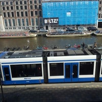 Photo taken at Tram 24 Centraal Station - VU by Vladimir K. on 9/22/2012