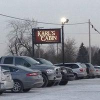 Photo taken at Karl's Cabin Restaurant by Brandon T. on 2/21/2013
