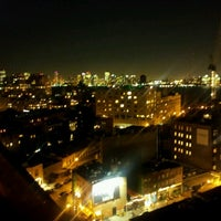 Photo taken at Plunge Rooftop Bar & Lounge by Shayan S. on 10/18/2012