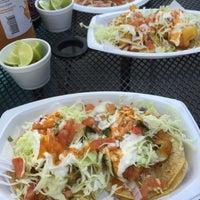 Photo taken at Tacos Baja Ensenada by Oscar V. on 3/9/2015