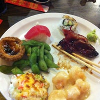 Photo taken at Pacific Seafood Buffet by Steven Y. on 10/17/2012