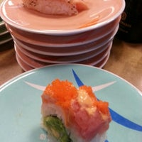 Photo taken at Marinepolis Sushi Land by Stephanie A. on 12/1/2012