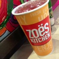 Photo taken at Zoës Kitchen by Kevin B. on 1/25/2013