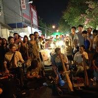 Photo taken at Chiangmai Walking Street by BooM on 4/7/2013