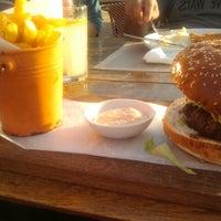 Photo taken at Bait Banamal - Restaurant (בית בנמל - המסעדה) by Yana R. on 10/13/2012
