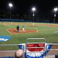 Photo taken at McKethan Stadium at Perry Field by Penny N. on 6/6/2016