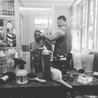 "Photo taken at Sanchez Barbershop by Gianny ""Folklorick"" A. on 5/20/2016"