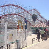 Photo taken at Giant Dipper Rollercoaster by Tom K. on 4/17/2013