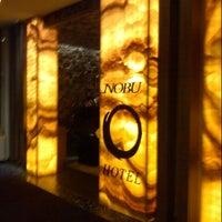 Photo taken at Nobu Hotel by @VegasBiLL on 6/9/2013