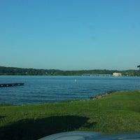 Photo taken at Anna Point Marina by Zach O. on 6/15/2013