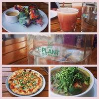 Photo taken at The Plant Cafe Organic by Jennifer C. on 5/2/2013