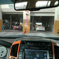 Photo taken at WOQOD Vehicles Inspection (FAHES) Industrial Area by Shaiju on 6/14/2014
