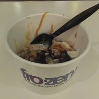 Photo taken at FroZenYo by Thais L. on 12/28/2012