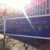 Photo taken at Lyndon Baines Johnson Department of Education Building by AJ E. on 3/27/2013