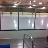 Photo taken at Gold Ice Arena #udel by Rick M. on 12/21/2013