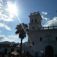 Photo taken at Parque Principal by Juan Carlos V. on 12/25/2013