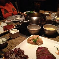 Photo taken at The Melting Pot by Lisa R. on 10/28/2012