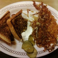 Photo taken at Waffle House by Christie V. on 1/3/2013