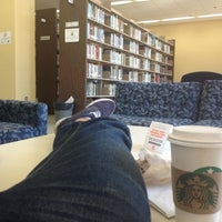 Photo taken at Newton Gresham Library by Jose M. on 2/14/2013