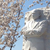 Photo taken at Martin Luther King, Jr. Memorial by Sarah H. on 4/9/2013