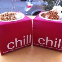 Photo taken at chillbox frozen yogurt by Niki R. on 6/22/2013