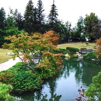 Photo taken at Shinzen Japanese Garden by Tolga I. on 10/25/2015